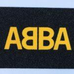 ABBA - yellow on black