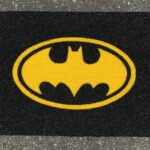 BATMAN - reverse - yellow on black