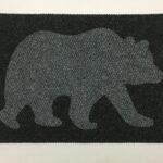 BEAR-grey on black