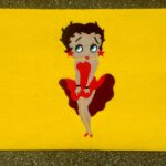 BETTY BOOP - on yellow