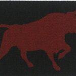 BULL-red on black (3)