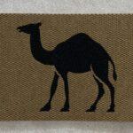CAMEL - black on tan