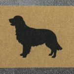 GOLDEN RETRIEVER-black on tan