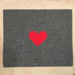 HEART-SMALL-red on grey