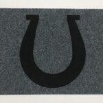 HORSESHOE-black on grey