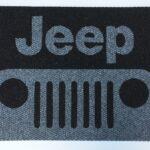 JEEP - FULL -grey on black