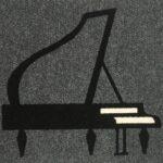 PIANO - black on grey (2)