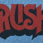 RUSH - red and black on grey