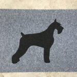 SCHNAUZER 2-black on grey