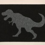 T-REX - grey on black