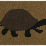 TURTLE-brown,black on tan