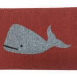 WHALE-grey on red